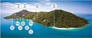 Fitzroy Island Map