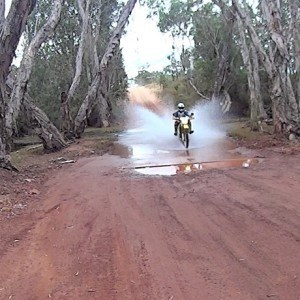 Motorcycle Outback Adventure