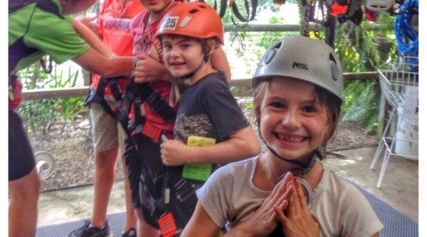 Cairns Zoom Adventure course, North Queensland Australia