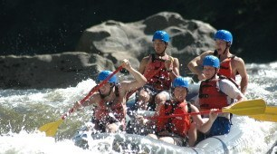 Cairns offers outstanding white water rafting on the Tully River