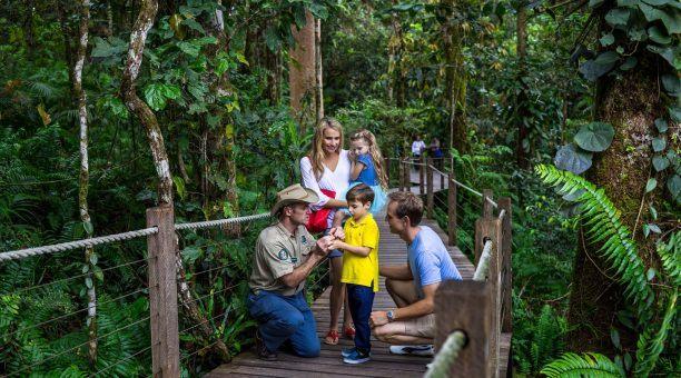 Ranger-guided boardwalk tour