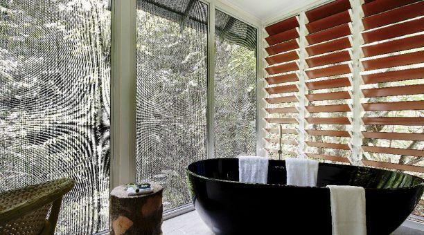 Bathtub on Private Enclosed Balcony